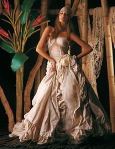 Exotic Wedding Dresses Collection Made in Italy Marina Mansanta