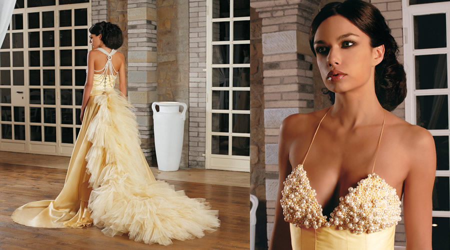 abbastanza Colonial Collection, Bridal Dresses Marina Mansanta FS88