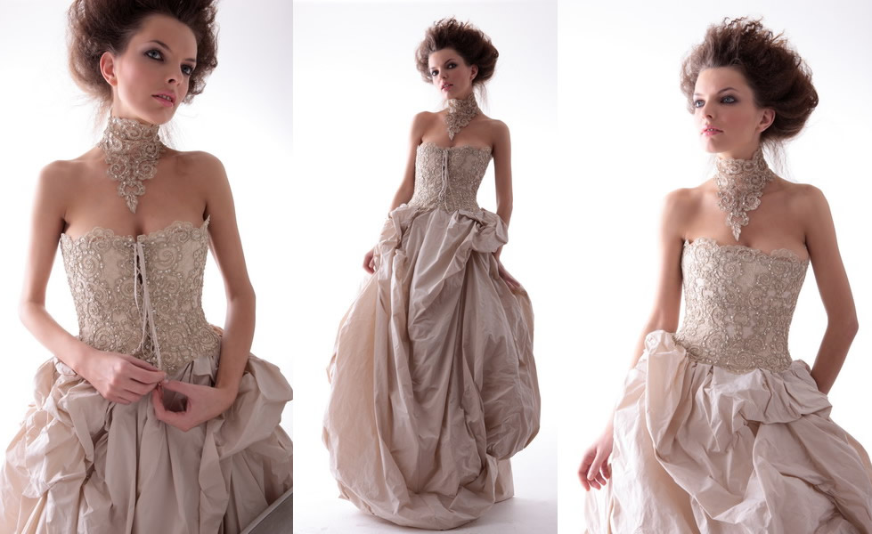 95216fbb6c69 09-pompadour-abito-sposa-con-pizzo-e-perle. Marina Mansanta